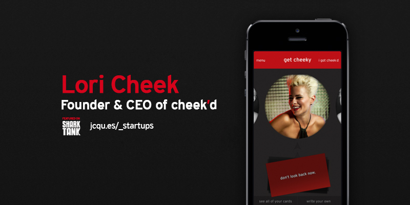 cheekd dating website So we caught up with lori cheek, the entrepreneur whose dating service, cheek'd, met exactly that fate on the network tv show last friday ms cheek used to be a highly paid architect then she quit her job to start cheek'd.
