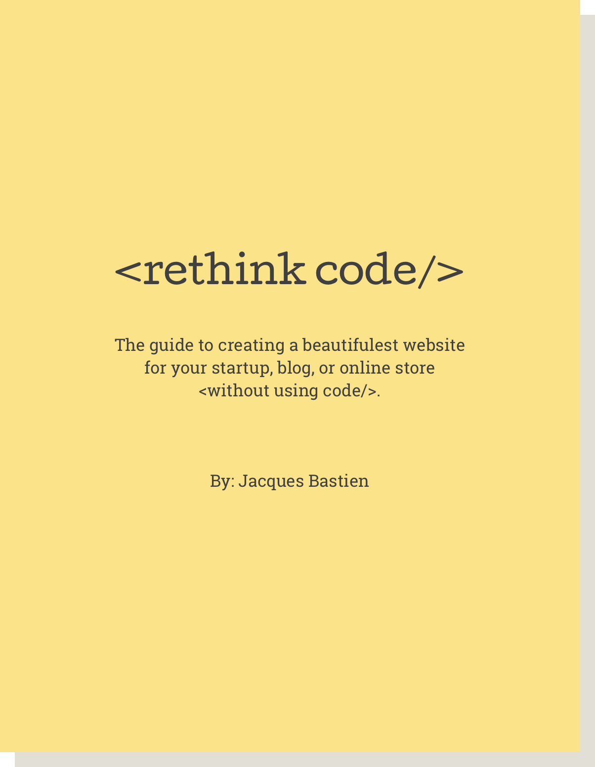 rethinkcode  Books rethinkcode